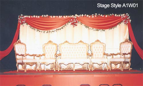 A1 weddings wedding stage gallery please quote stage style number when enquiring or ordering thank you junglespirit Gallery